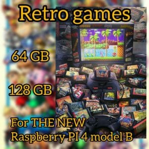 NEW RASPBERRY PI 4 Model B – RETROPIE  RETRO GAMES BUILD MICRO SD CARD