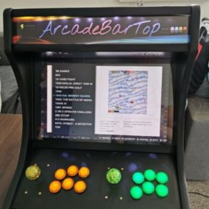 15000+ Games Bartop Arcade Cabinet