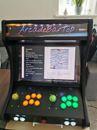 15000+ Games Bartop Arcade Cabinet - ArcadeBarTop