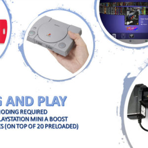Playstation Mini Classic – 260 games Hyper Boost Stick