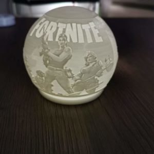 3D printed Fortnite Night Light