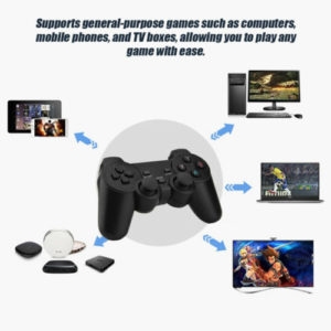 Wireless Playstation style controller with USB dongle